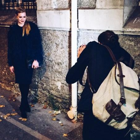 Lisa Marie after Alexander McQueen