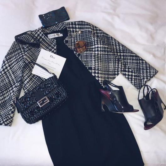 Lisa Marie's Dior Look