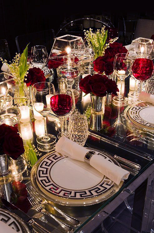 Holiday table setting   VT Home & VT Home: How to set Holiday Table   Visual Therapy
