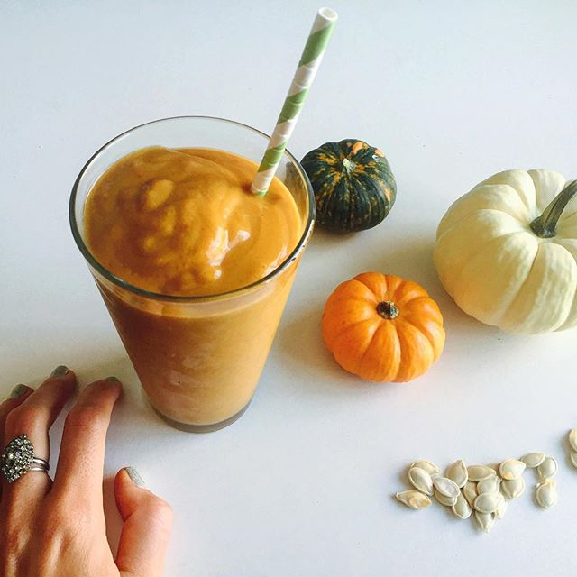 Pumpkin smoothie by Klara Mudge Both Sides Buttered
