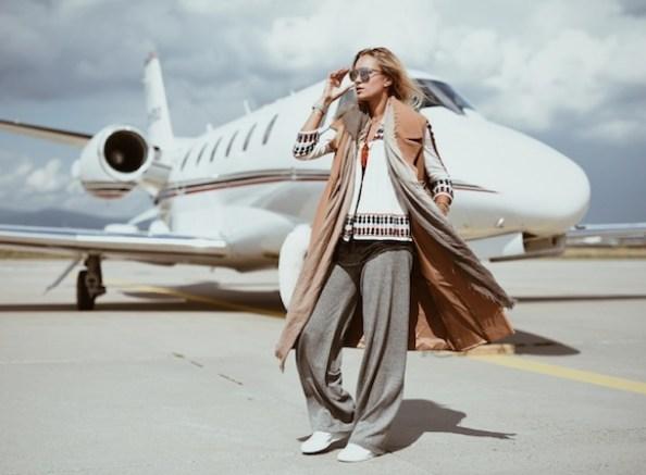 Nina Suess Airport Lufthansa