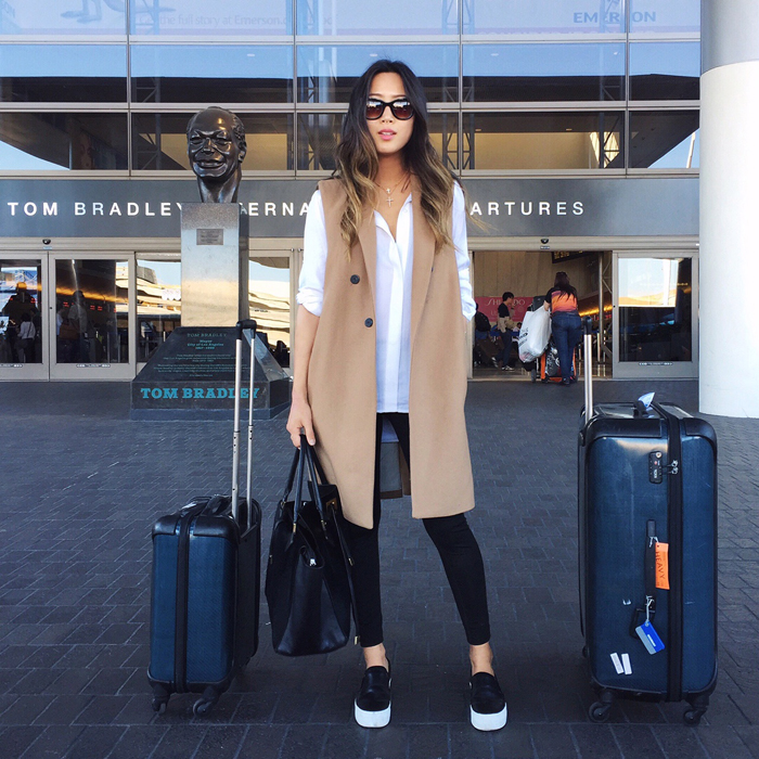 Aimee Song travel style