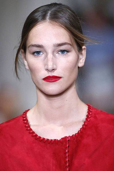 Oscar de la Renta SS 2016 Beauty