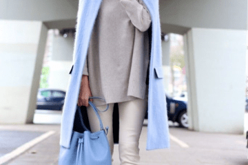 Pastels and white street style spring 2016