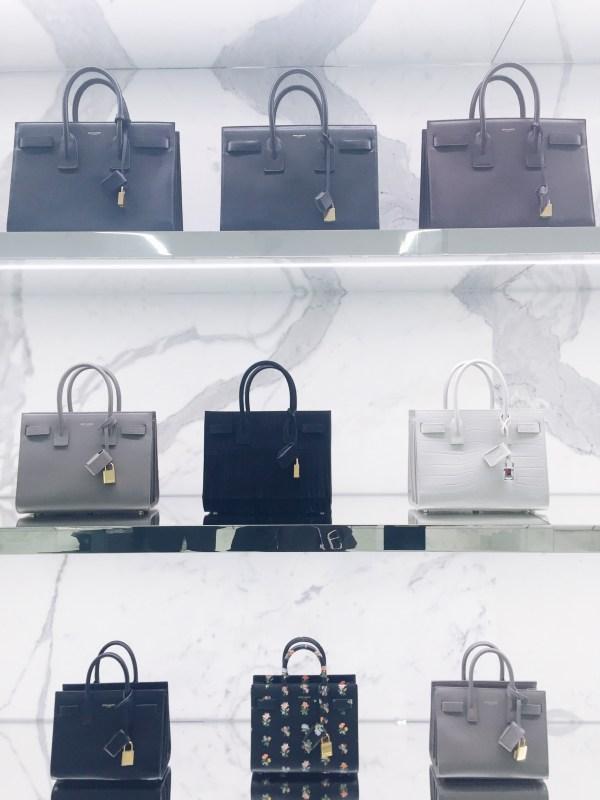 YSL handbags spring 2016