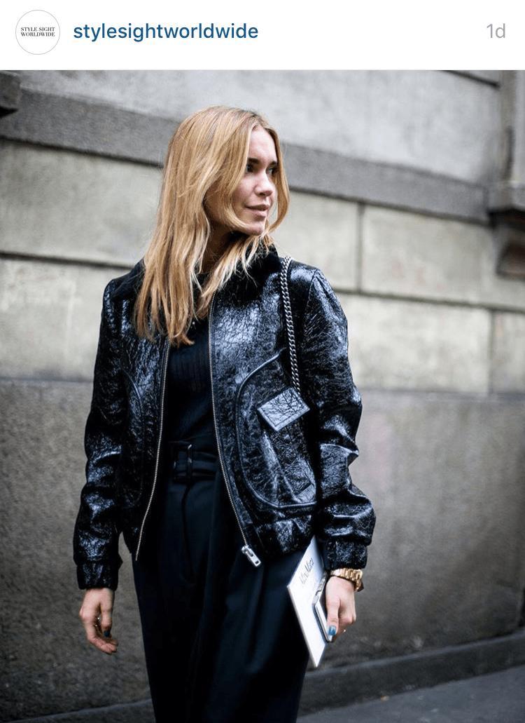 Pernille Teisbaek Milan Fashion Week