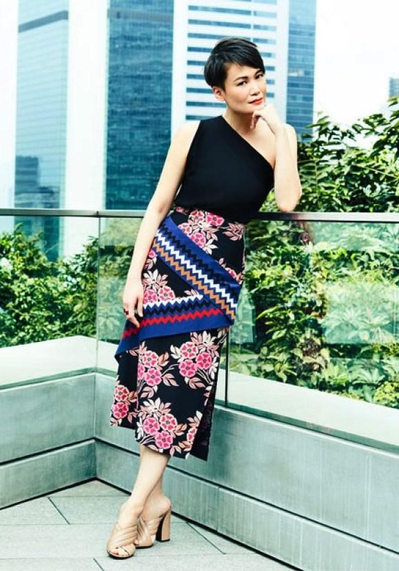 Adeline Ooi Style Gucci Sandal MSGM