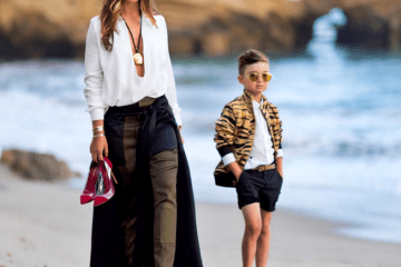 Luisa Fere and son Alonso