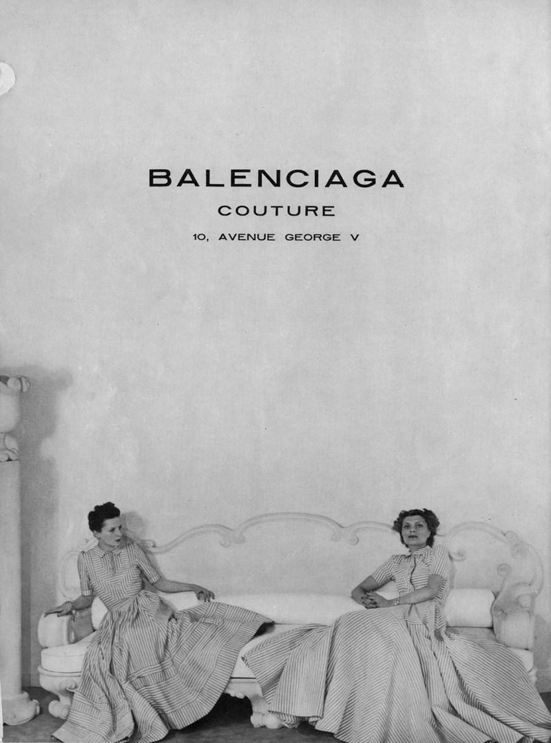 Balenciaga couture ad