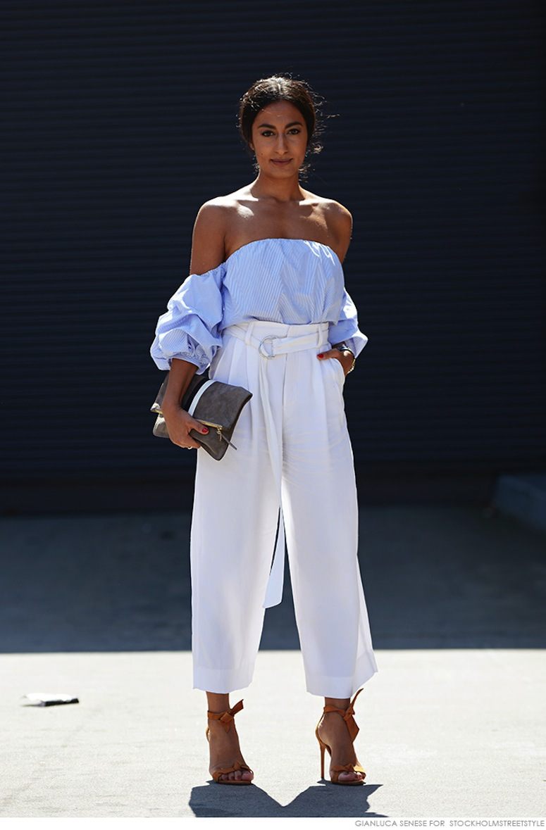 c99b250c5617 How To Wear The Off-The-Shoulder Trend