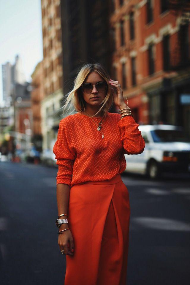 Monochromatic Street Style