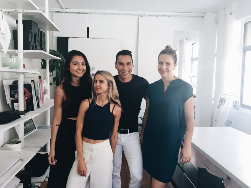 Jess and Nina from ADAY, Jesse and Ksenia from Visual Therapy