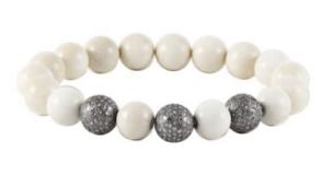 Sheryl Lowe Bone Pave Bracelet (Stack them!)