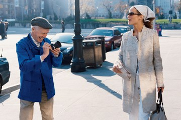Bill Cunningham street style photo
