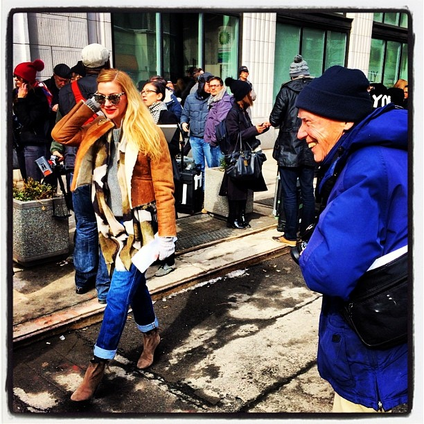 Lisa Marie MCcomb by Bill Cunningham
