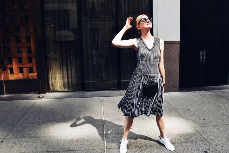 Lisa Marie McComb Alaia Stan Smiths Street Style
