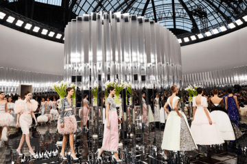 Chanel spring summer couture preview with visual therapy lead stylists