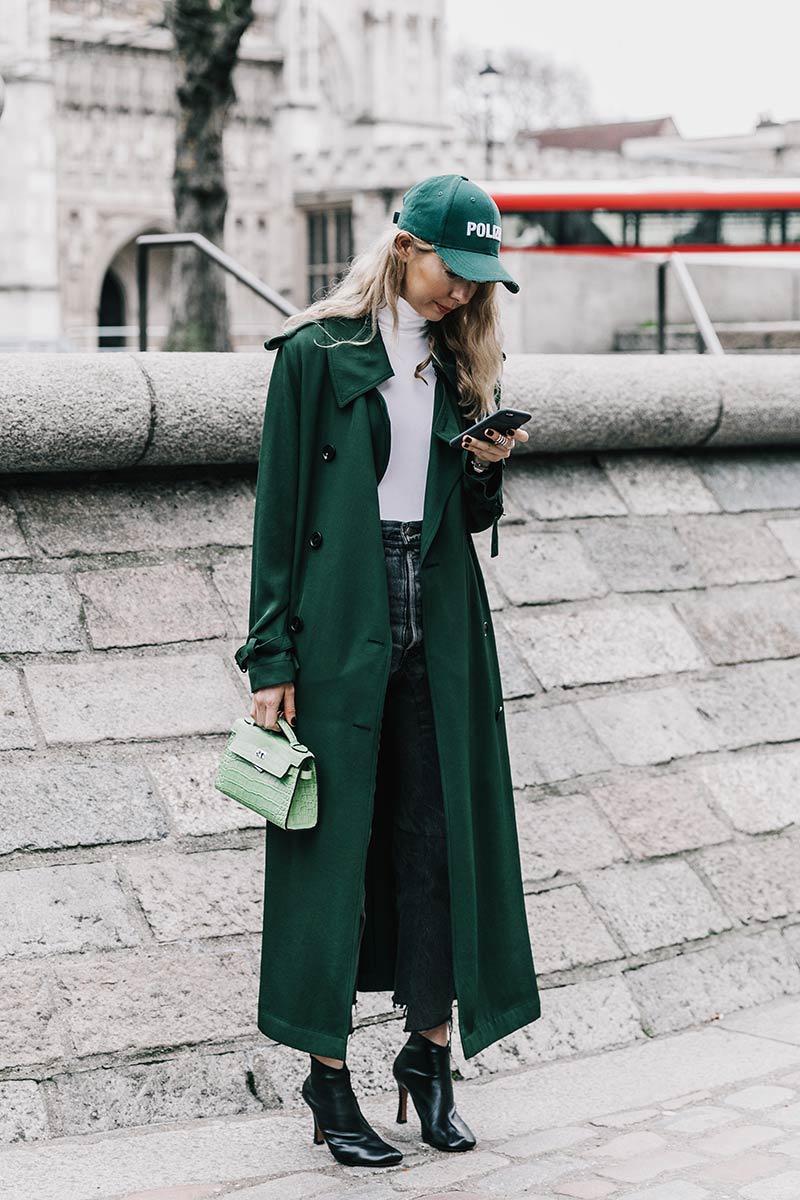 Green street style