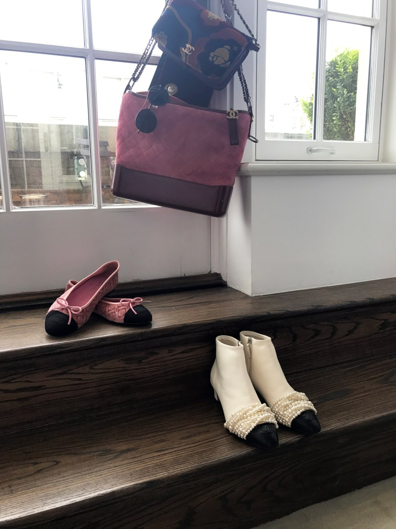 Chanel shoes at chanel preview at the mark hotel