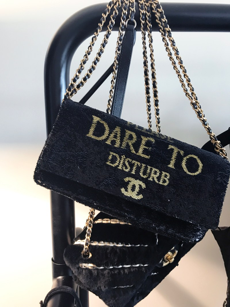Do not disturb chanel bag at the mark hotel
