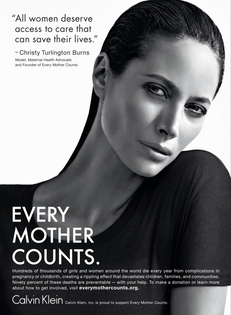 christy turlington every mother counts