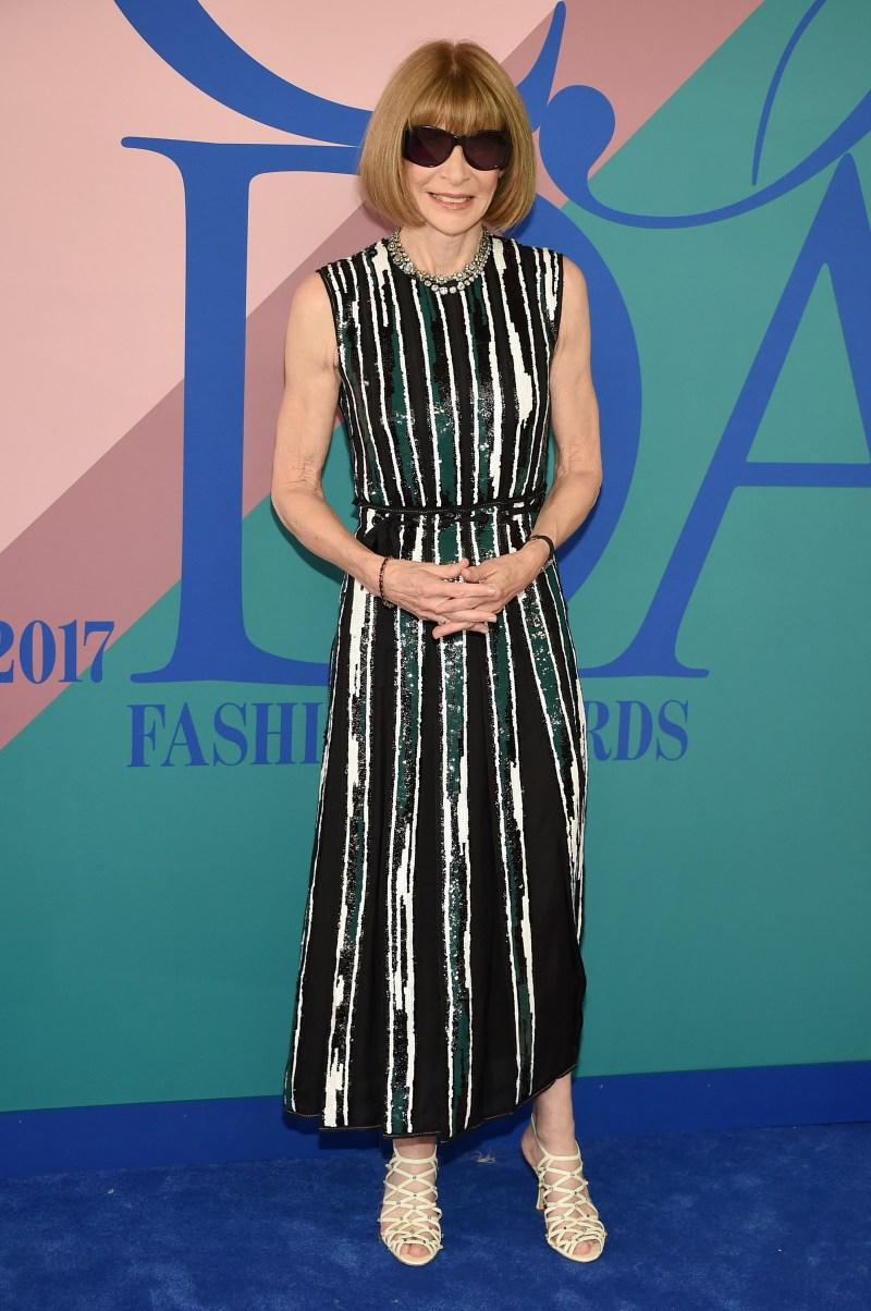 Anna Wintour CFDA 2017