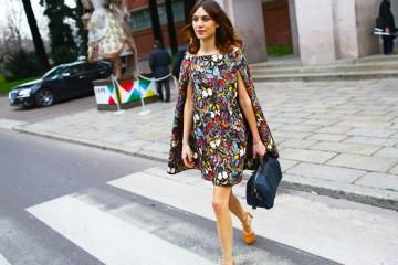 Alexa Chung Street Style