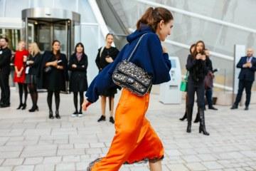 Marigold orange street style