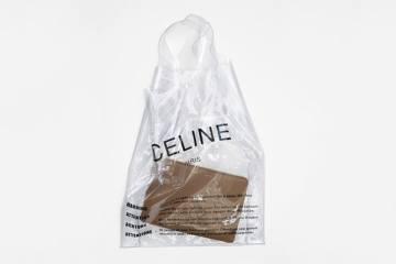 Celine plastic bag