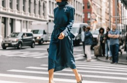 Transitional weather street style