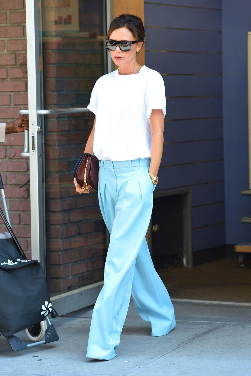 Victoria Beckham white t-shirt