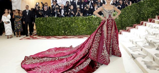 Blake Lively best dressed at the met gala 2018 heavenly bodies