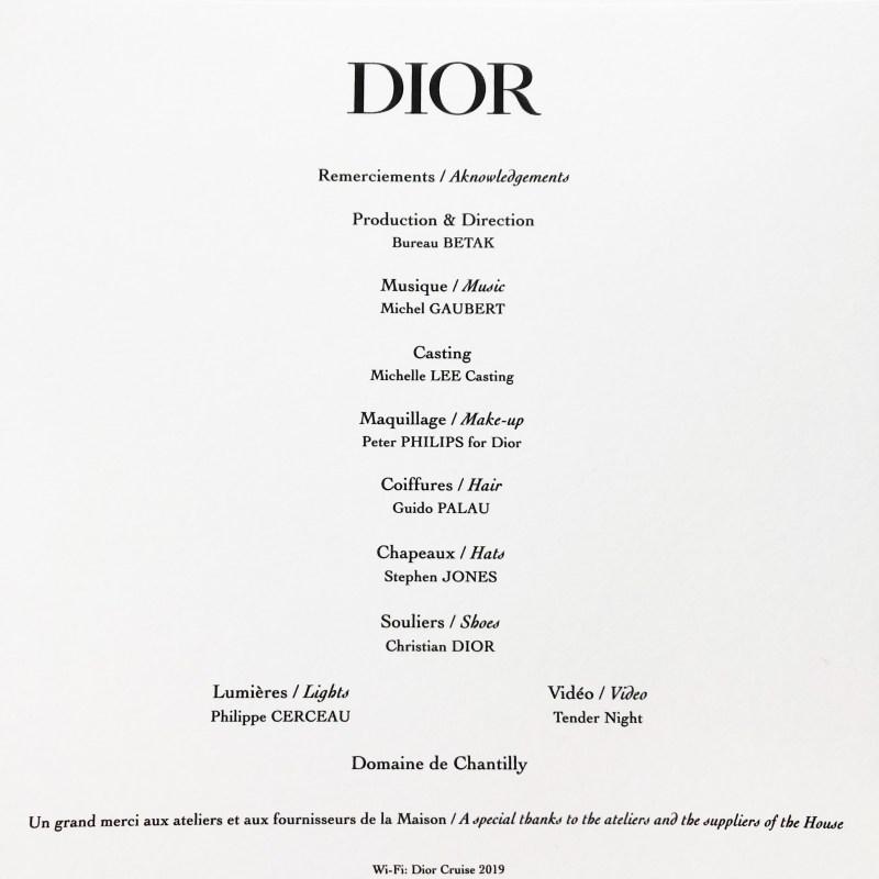 Dior Cruise '19
