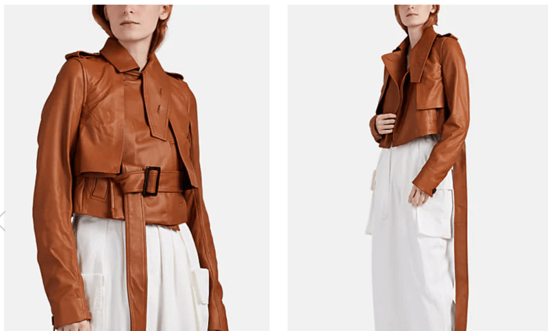 Rick Owens trench jacket