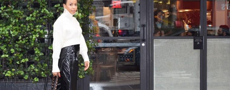 Kellye Henton visual therapy stylist walking in nyc