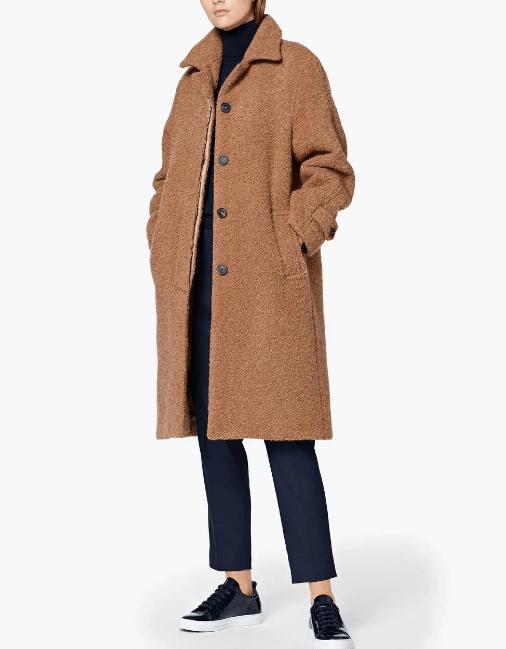 Mackintosh Teddy Bear Coat