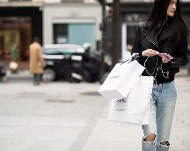 Shopping street style