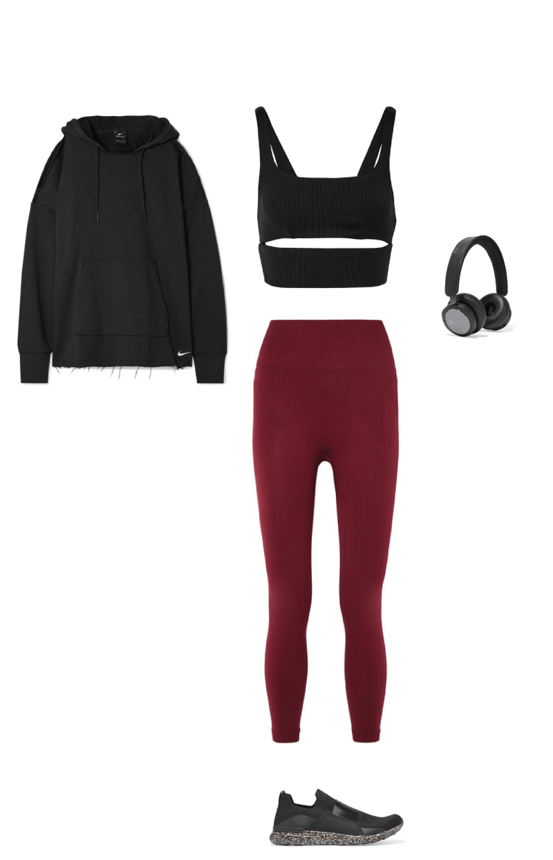 chic work out look