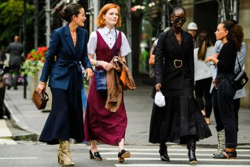 Visual Therapy: NYFW Spring 2020 Street style