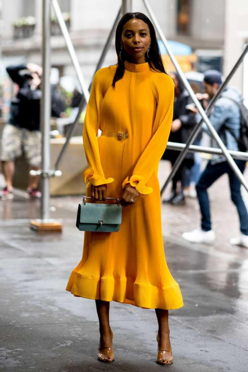 marigold street style