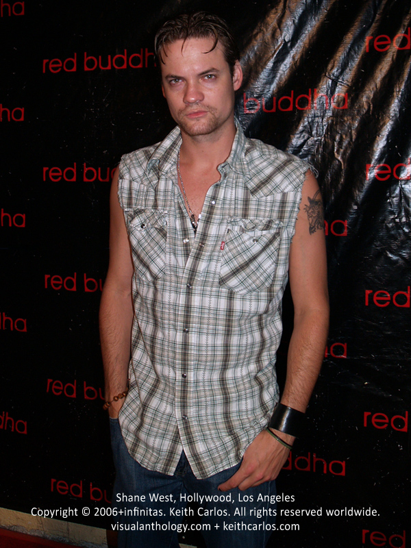 Shane West - Red Buddha 1 Year Anniversary, Hollywood, Los Angeles, California - Copyright © 2006+infinitas. Keith Carlos. All rights reserved worldwide. visualanthology.com + keithcarlos.com