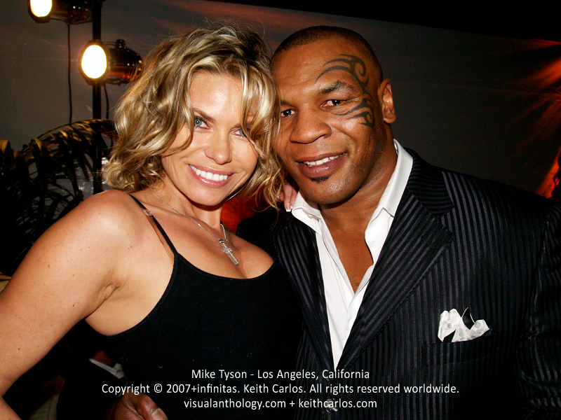 Mike Tyson - Former Heavyweight Boxing Champion Boxer Fighter Athlete Actor, Los Angeles, California - Copyright © 2007+infinitas. Keith Carlos. All rights reserved worldwide. visualanthology.com + keithcarlos.com