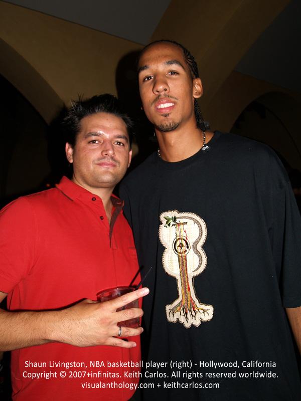 Shaun Livingston, NBA basketball player - Hollywood, Los Angeles, California - Copyright © 2007+infinitas. Keith Carlos. All rights reserved worldwide. visualanthology.com + keithcarlos.com