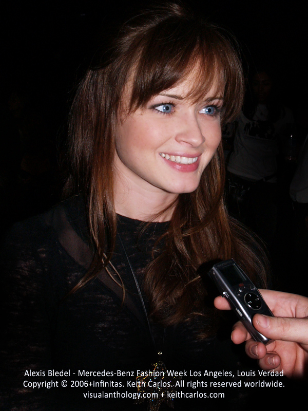Alexis Bledel - Mad Men, Gilmore Girls, Mercedes-Benz Fashion Week 2006 October, Louis Verdad Fashion Show, Los Angeles, California - Copyright © 2006+infinitas. Keith Carlos. All rights reserved worldwide. visualanthology.com + keithcarlos.com