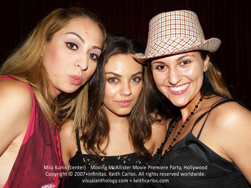 Mila Kunis - Moving McAllister Movie Premiere Party, Hollywood, Los Angeles, California - Copyright © 2007+infinitas. Keith Carlos. All rights reserved worldwide. visualanthology.com + keithcarlos.com