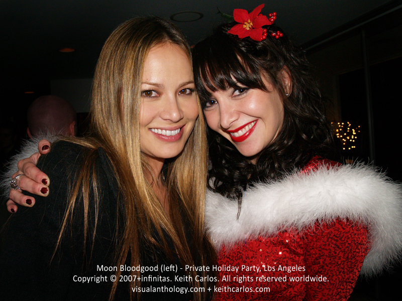 Moon Bloodgood - Actress, Falling Skies, Terminator Salvation, Private Holiday Party, Los Angeles, California - Copyright © 2007+infinitas. Keith Carlos. All rights reserved worldwide. visualanthology.com + keithcarlos.com
