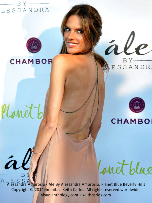 Alessandra Ambrosio - Ale By Alessandra Ambrosio Fashion Collection Brand Launch, Planet Blue Beverly Hills, Los Angeles, California - Copyright © 2014+infinitas. Keith Carlos. All rights reserved worldwide. visualanthology.com + keithcarlos.com