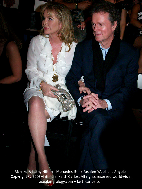 Richard & Kathy Hilton - Hilton Hotels, Mercedes-Benz Fashion Week 2008 March, Nicky Hilton Fashion Show, Los Angeles, California - Copyright © 2008+infinitas. Keith Carlos. All rights reserved worldwide. visualanthology.com + keithcarlos.com