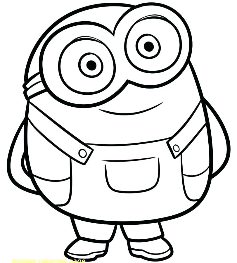 47 Minion Coloring Pages For Kids Visual Arts Ideas