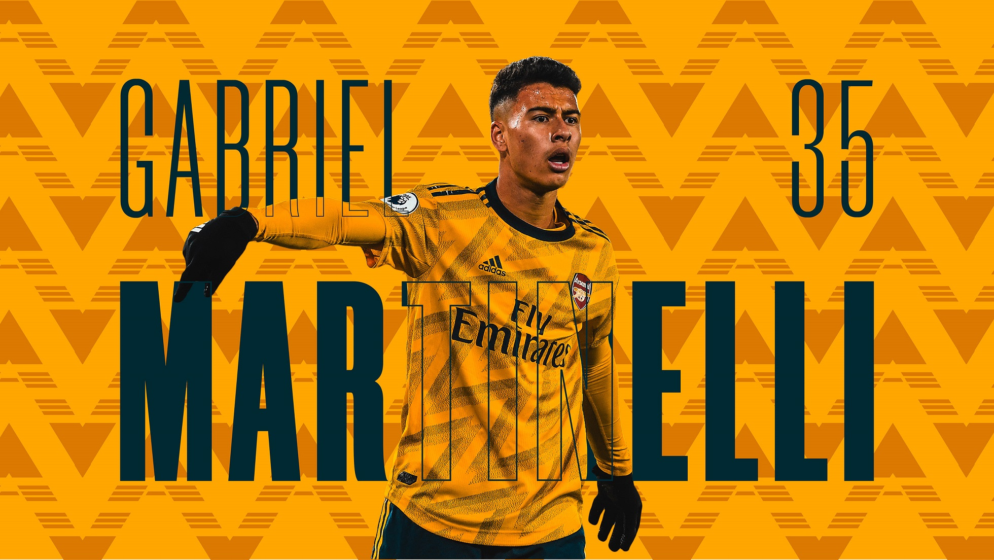 gabriel martinelli wallpapers arsenal